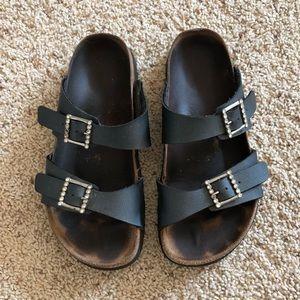 Birkenstock Papillio sandals, pewter, 8